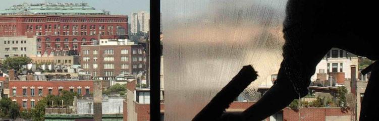 Limpiezas de cristales en altura Limpiezas y conservación Cámara
